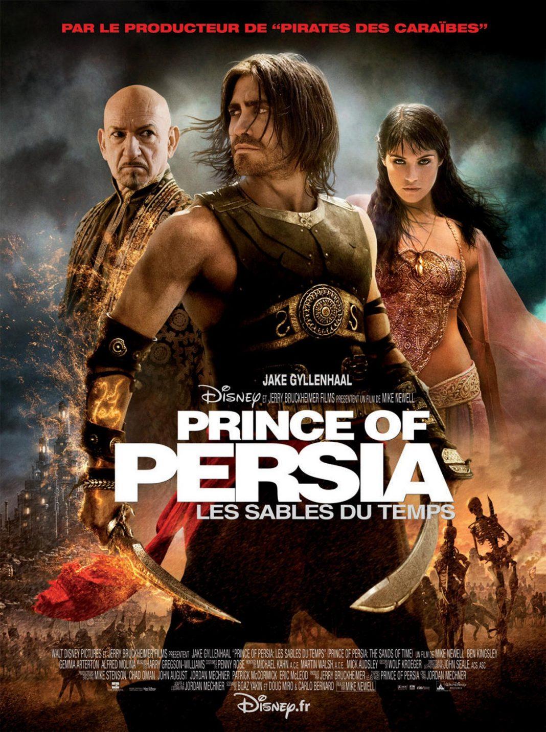 walt disney company walt disney pictures affiche prince persia sables temps poster sands time