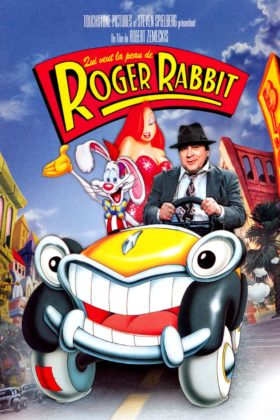 Affiche Poster Qui veut la peau de Roger Rabbit who framed Disney Touchstone Pictures