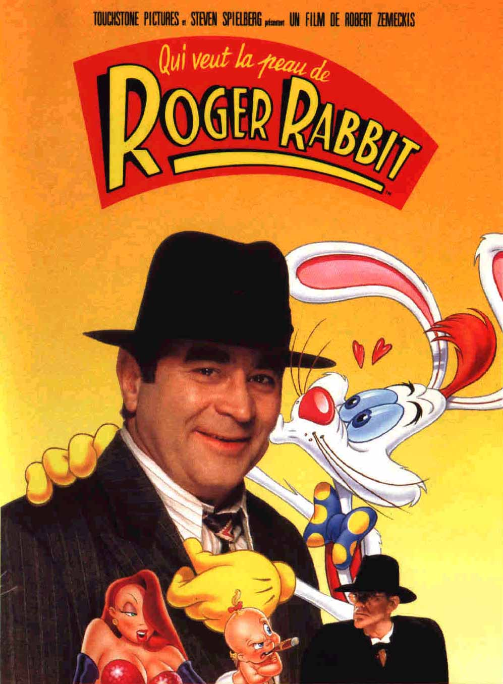 Affiche Roger Rabbit qui veut la peau de roger rabbit ? | disney-planet