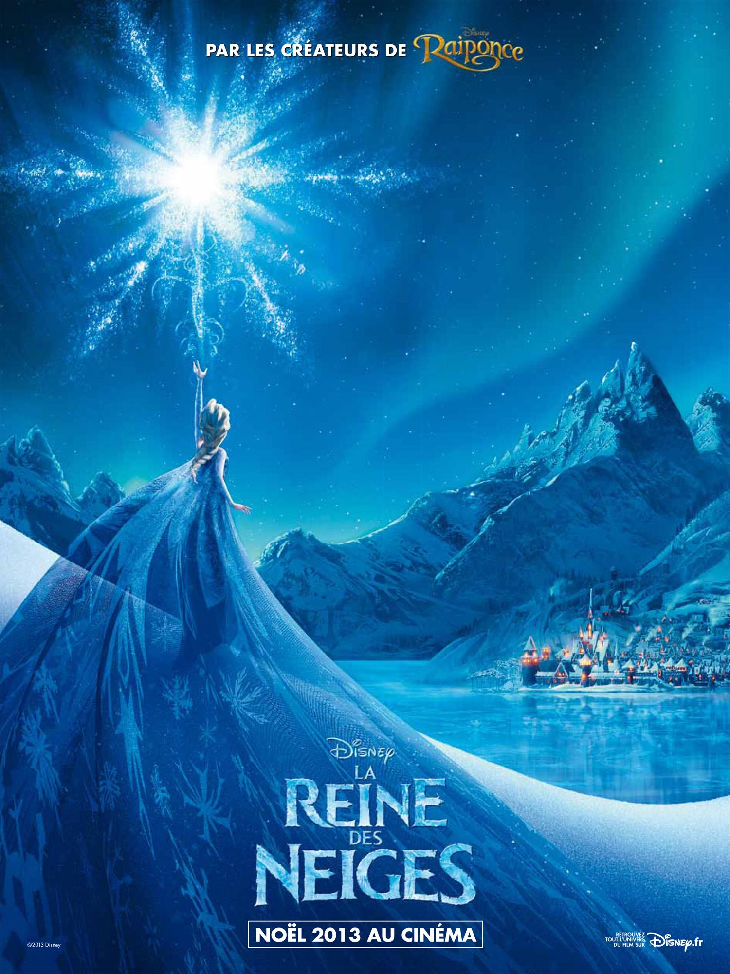 walt disney animation affiche reine neiges poster frozen