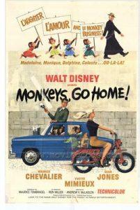 walt disney company walt disney pictures affiche rentrez chez vous-singes poster monkeys home