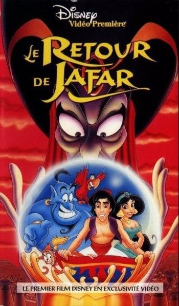 walt disney animation disney toon studio affiche retour jafar poster return jafar