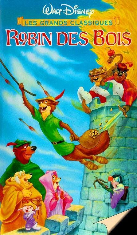 walt disney animation affiche robin des bois poster robin hood