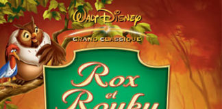 walt disney animation affiche rox rouky poster fox and hount