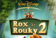 walt disney animation disneytoon studios affiche rox rouky 2 fox hound 2