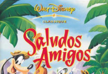 walt disney animation affiche saludos amigos poster
