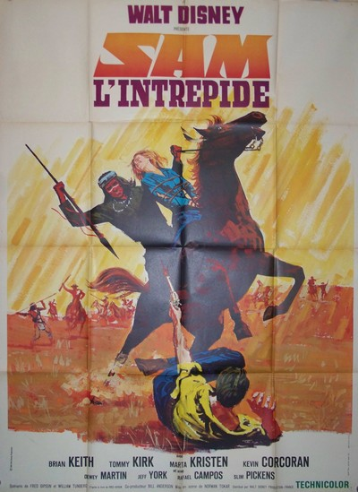 walt disney company walt disney pictures affiche sam intrepide poster savage sam