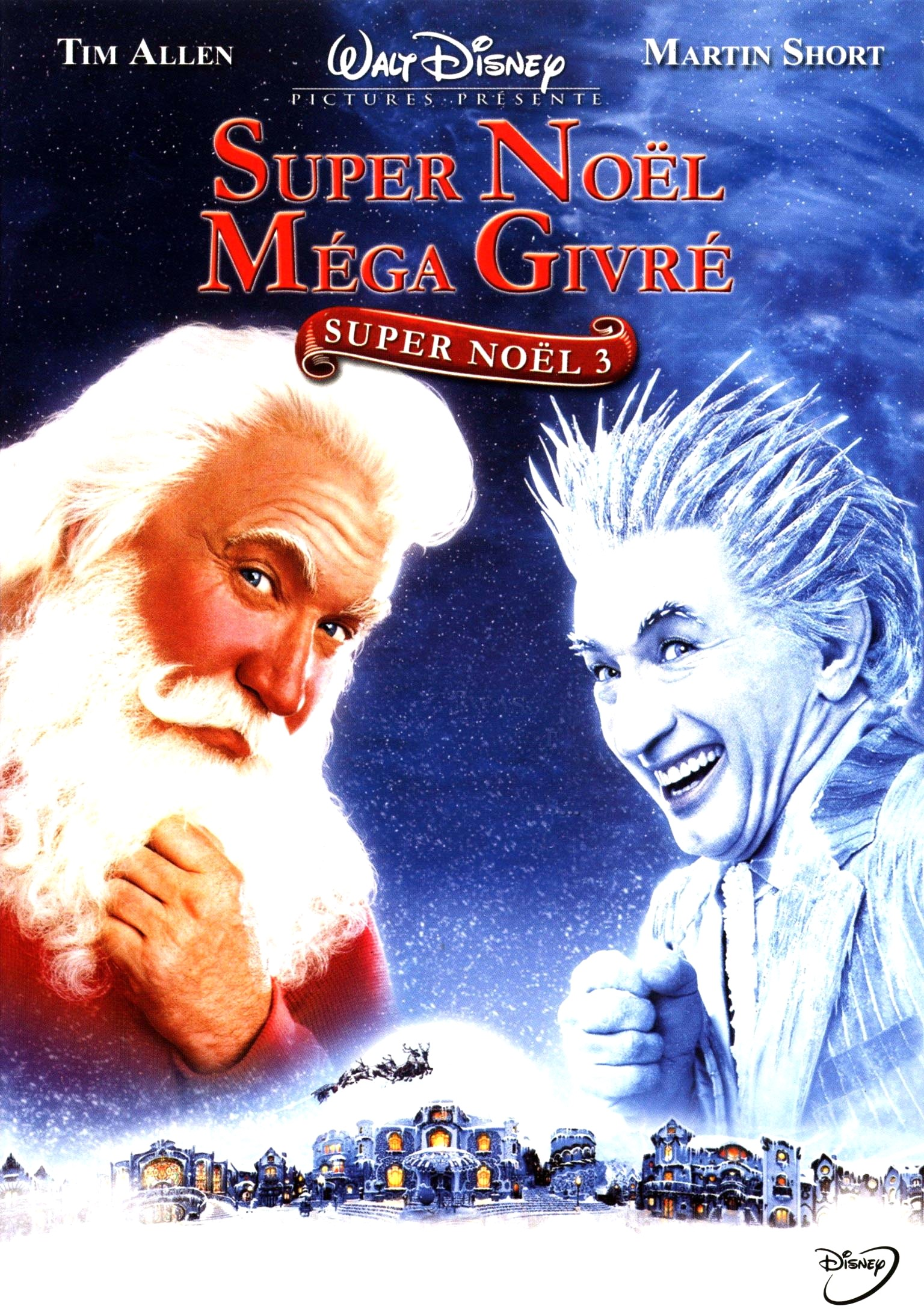 walt disney company walt disney pictures affiche super noel 3 mega givre poster santa clause 3 escape clause