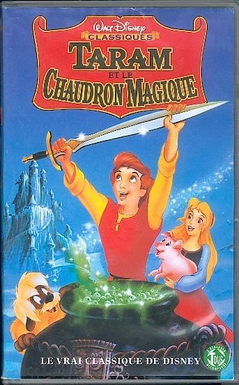 walt disney animation affiche taram chaudron magique poster black cauldron