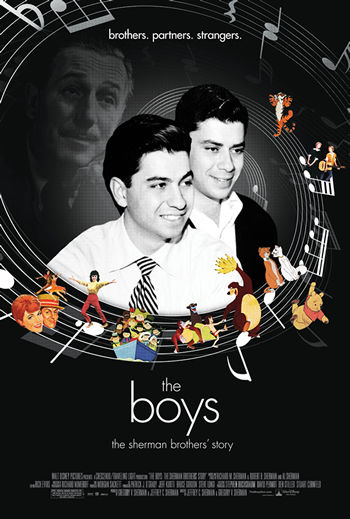 walt disney company walt disney pictures affiche the boys sherman brothers story poster