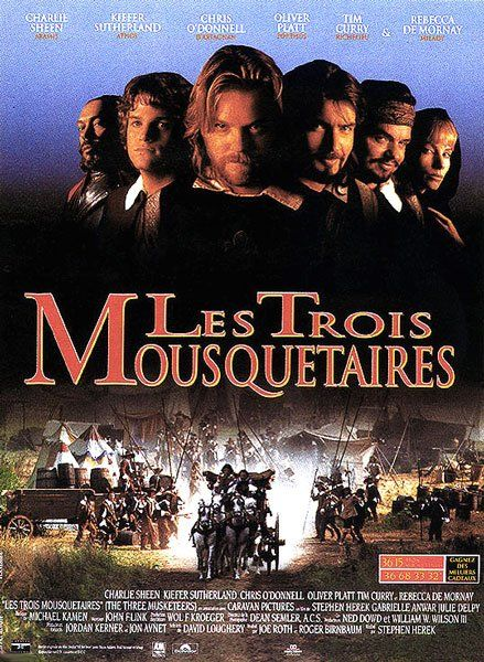 walt disney company walt disney pictures affiche trois mousquetaires poster three musketeers