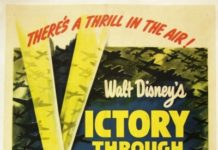walt disney animation affiche victoire dans airs poster victory through air power