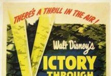 walt disney animation affiche victoire dans airs poster victory through air power