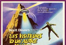 walt disney company walt disney pictures affiche visiteur autre monde poster return witch mountain