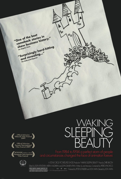 walt disney company walt disney pictures affiche walking sleeping beauty poster