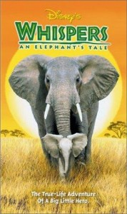 walt disney company walt disney pictures affiche whispers poster elephant tale