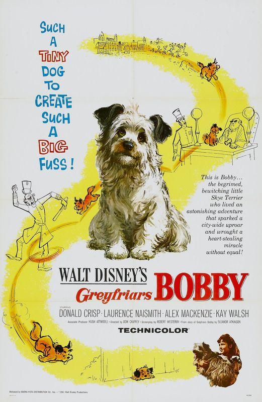 walt disney company walt disney pictures affiches bobby greyfriars poster greyfriars bobby