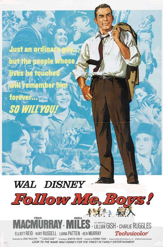 walt disney company walt disney pictures affiches demain hommes poster follow me boys