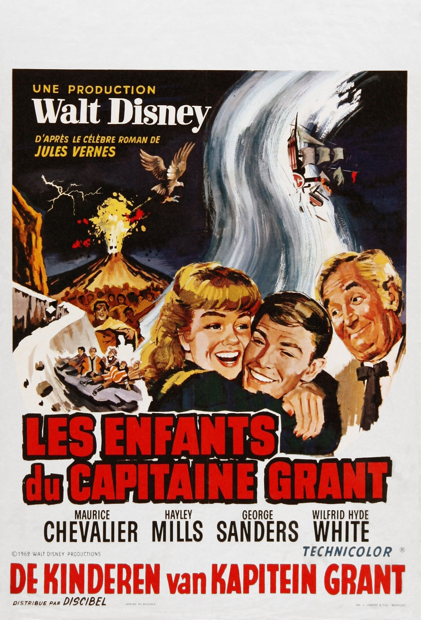 Les Enfants Du Capitaine Grant Disney Planet