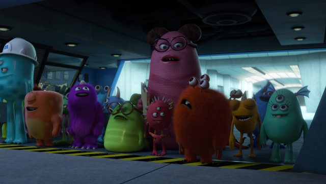 brian personnage character monstres monsters academy university disney pixar
