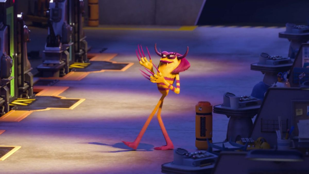 carla benitez personnage character monstres monsters academy university disney pixar