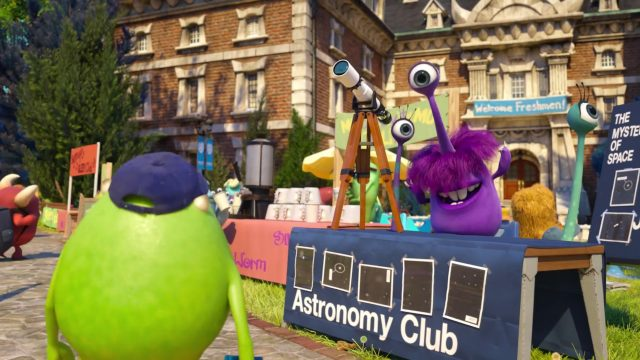club astronomie personnage character monstres academy monsters university disney pixar