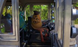 conducteur driver bus janitor personnage character monstres academy monsters university disney pixar