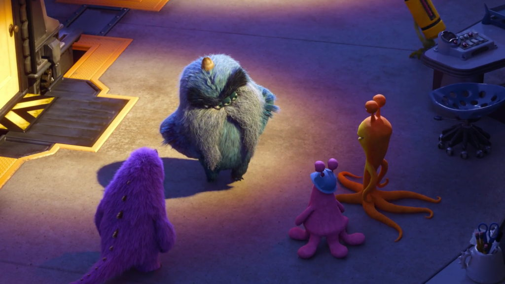 earl thompson personnage character monstres academy monsters university