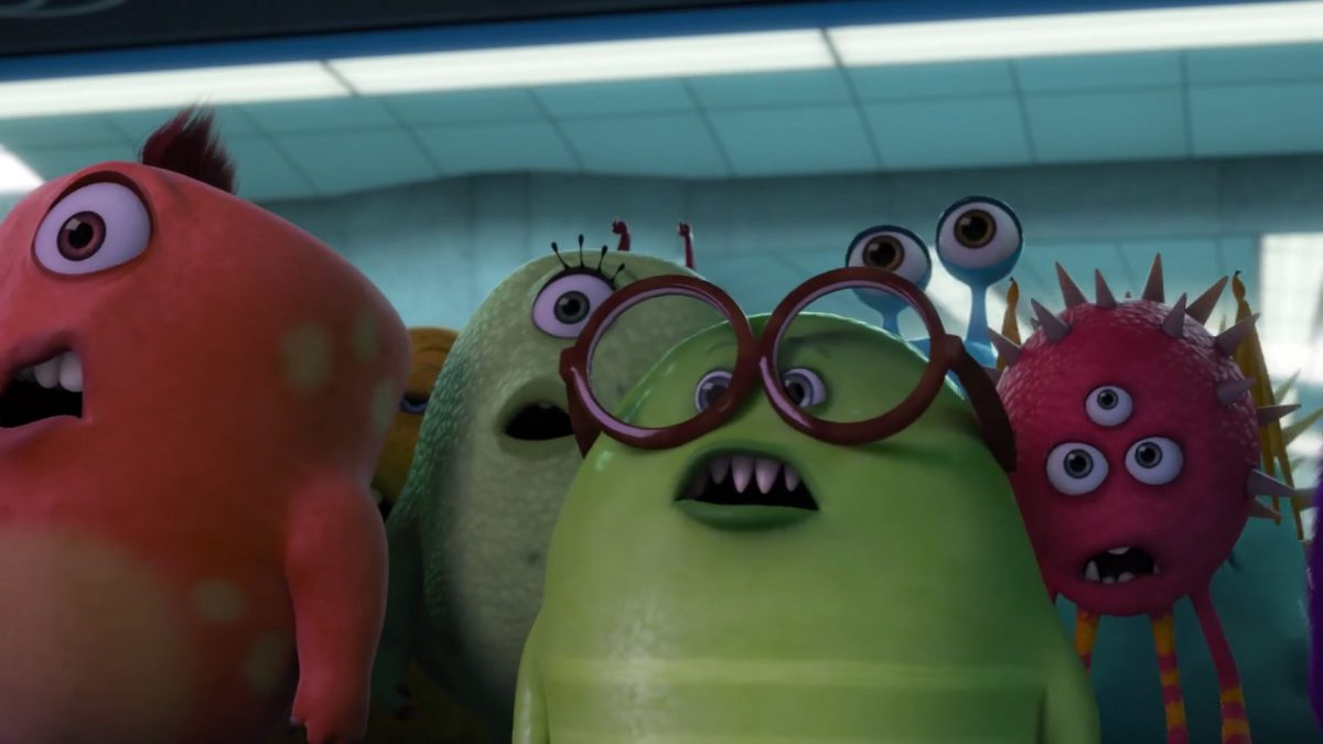 emmet personnage character monstres monsters academy university disney pixar