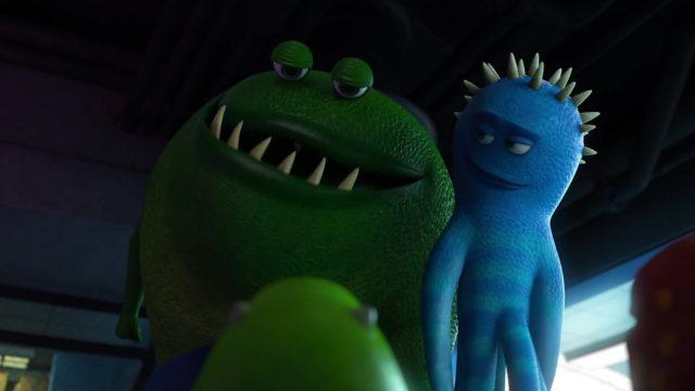 hank knapp personnage character monstres monsters academy university disney pixar