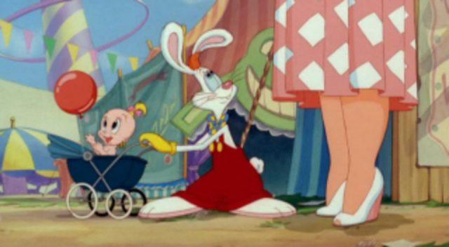 image lapin looping rollercoaster roger rabbit disney
