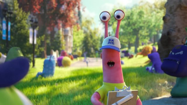jay  personnage character monstres monsters academy university disney pixar