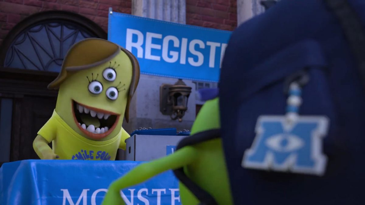 kay personnage character monstres academy monsters university disney pixar