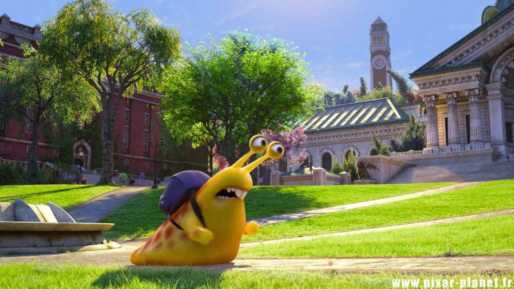 Pixar Disney Monstres Academy Monsters University limace