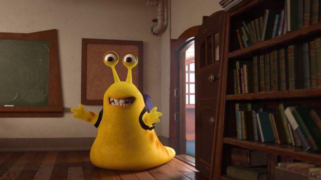 limace slug personnage character monstres academy monsters university disney pixar