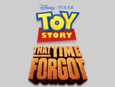 Pixar Disney logo Toy Story That Time Forgot