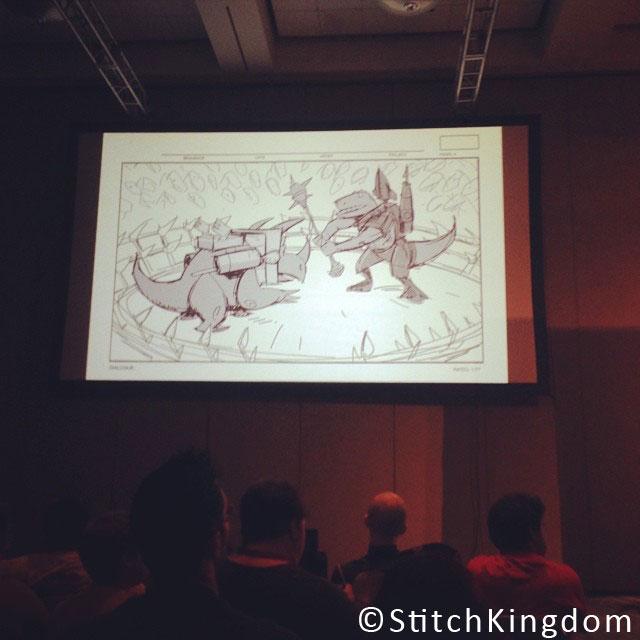 Pixar Disney Toy Story That Time Forgot Artwork concept