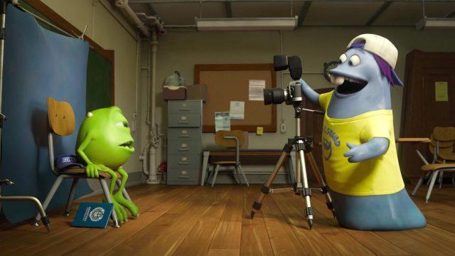 trey personnage character monstres academy monsters university disney pixar