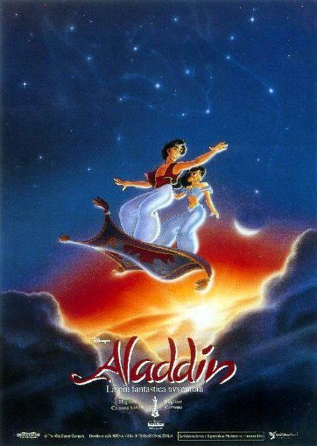 affiche aladdin poster disney