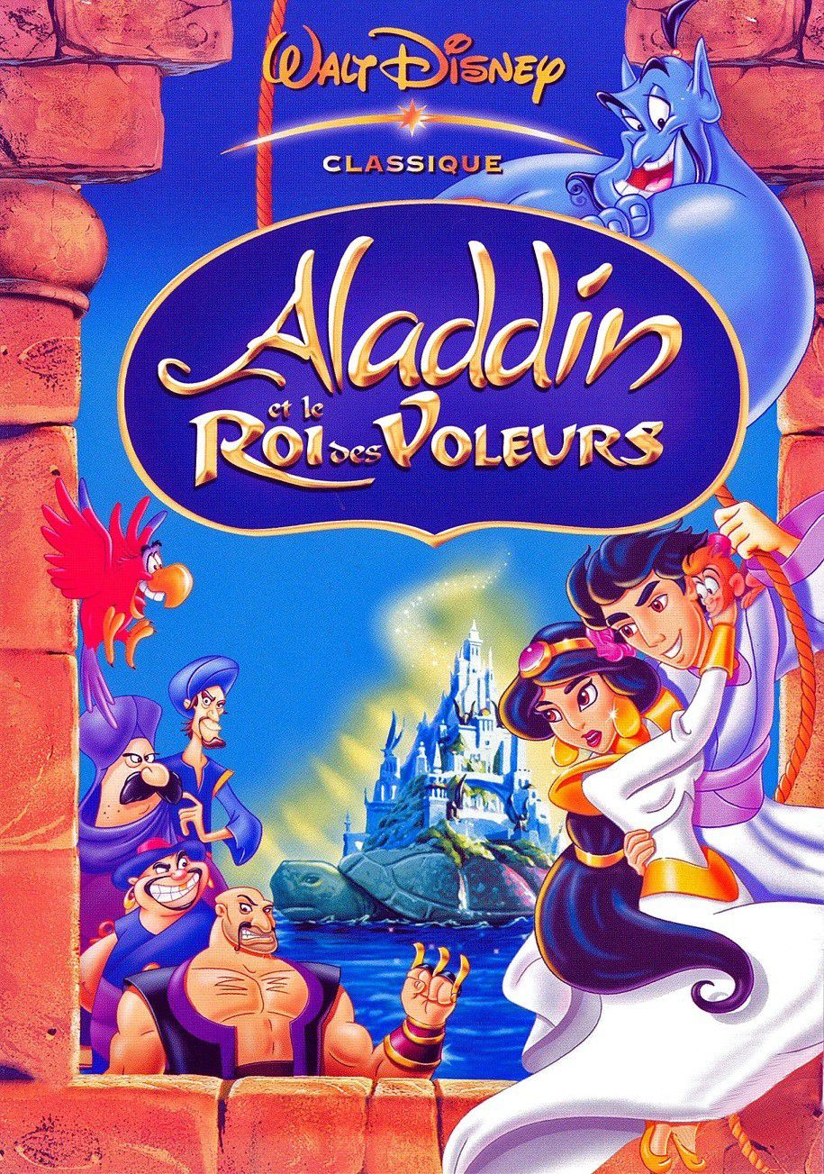 Affiche Poster aladdin roi voleurs king thieves disney disneytoon