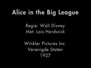 affiche poster alice big league disney comedies