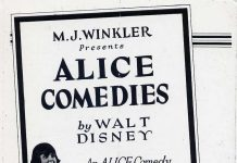 affiche alice comedies alice channel swim walt disney animation studios poster