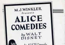 affiche alice comedies alice channel swim walt disney animation studios poster
