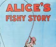 affiche alice comedies alice fishy story walt disney animation studios poster