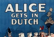 affiche alice comedies alice gets in dutch walt disney animation studios poster