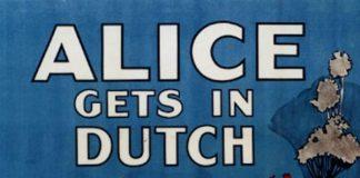 affiche alice comedies alice gets in dutch walt disney animation studios poster