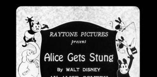 affiche alice comedies alice gets stungs walt disney animation studios poster