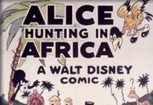 affiche alice comedies alice hunting in africa walt disney animation studios poster