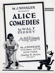 affiche alice comedies alice in the kondike walt disney animation studios poster