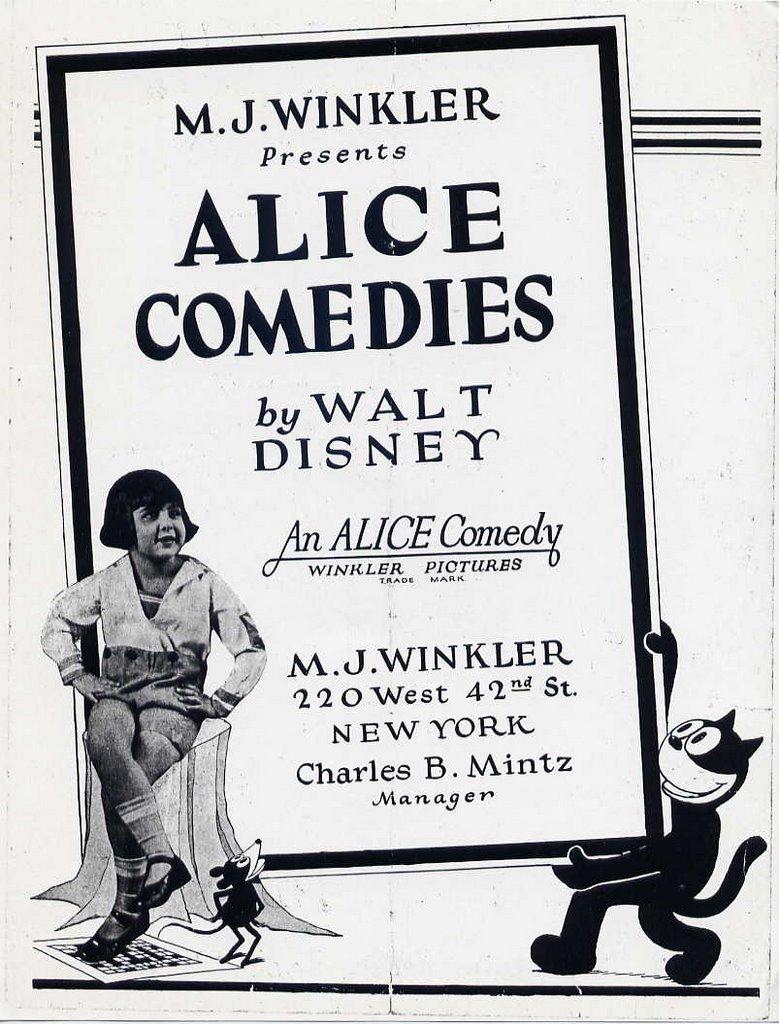 affiche alice comedies alice medecine show walt disney animation studios poster